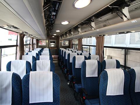 中国バス「広福ライナー」 G1106 車内
