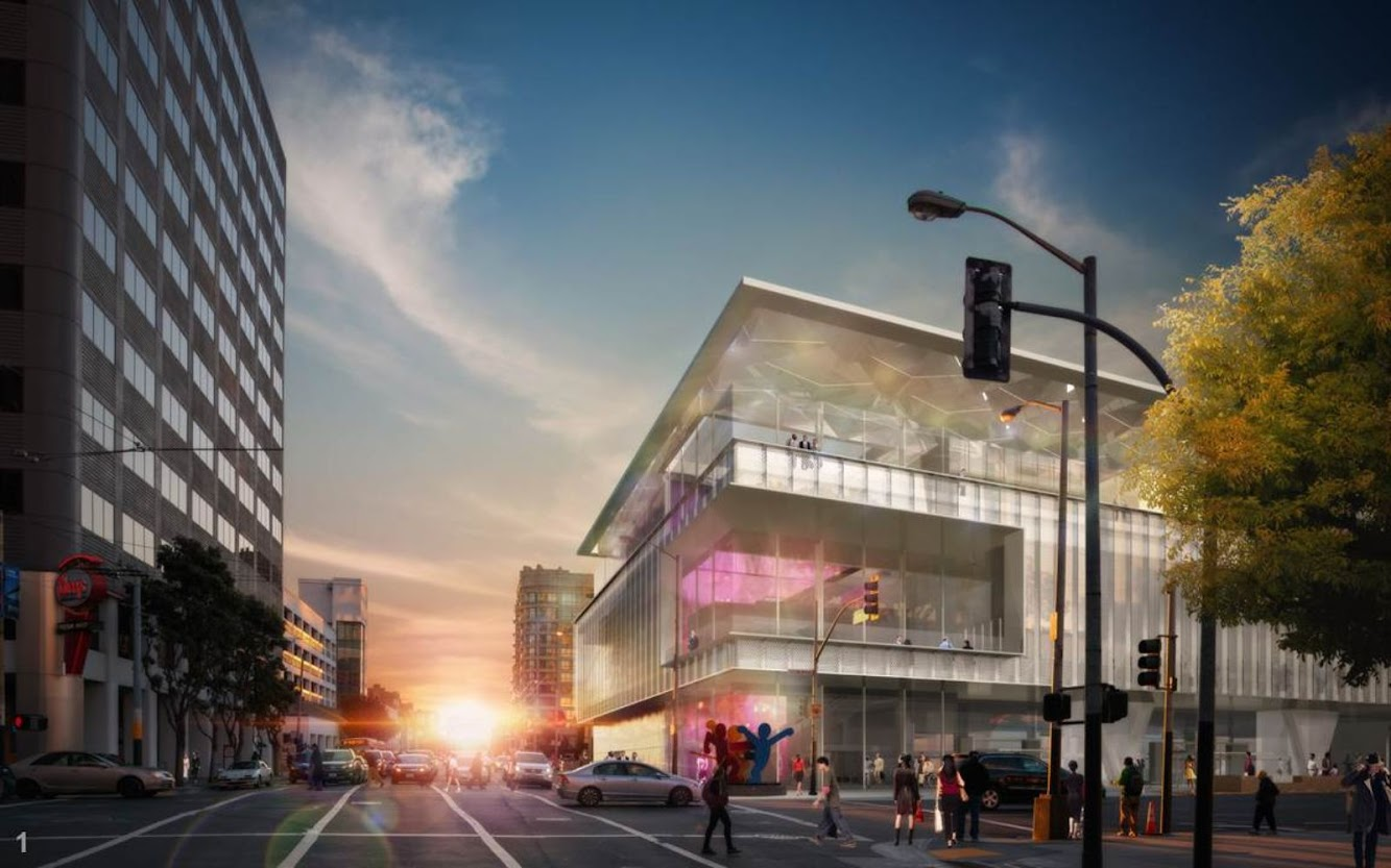 SOM: MOSCONE CENTER EXPANSION by SKIDMORE, OWINGS & MERRILL