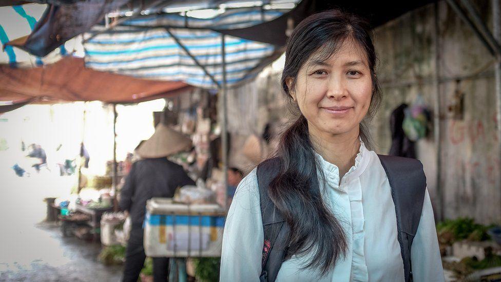 Доктор Фам Тхи Тху Хуонг из Полеводческого исследовательского института Вьетнама