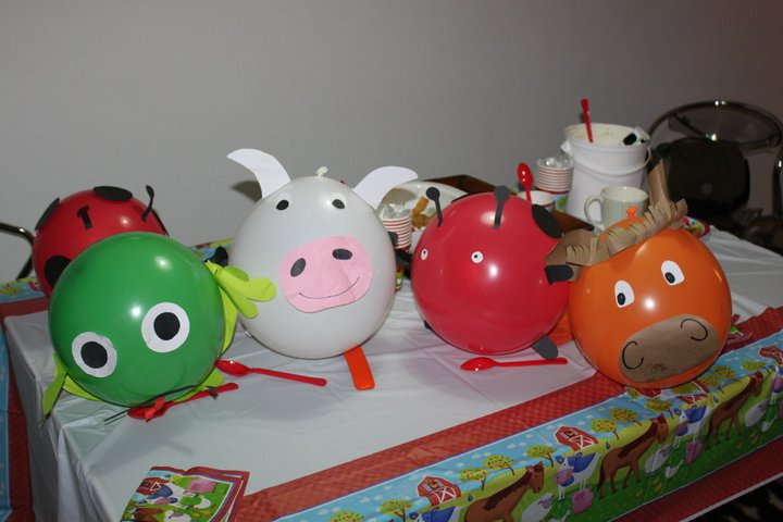 Handy mom bombas de animales para fiestas infantiles - Bombas de fiesta ...