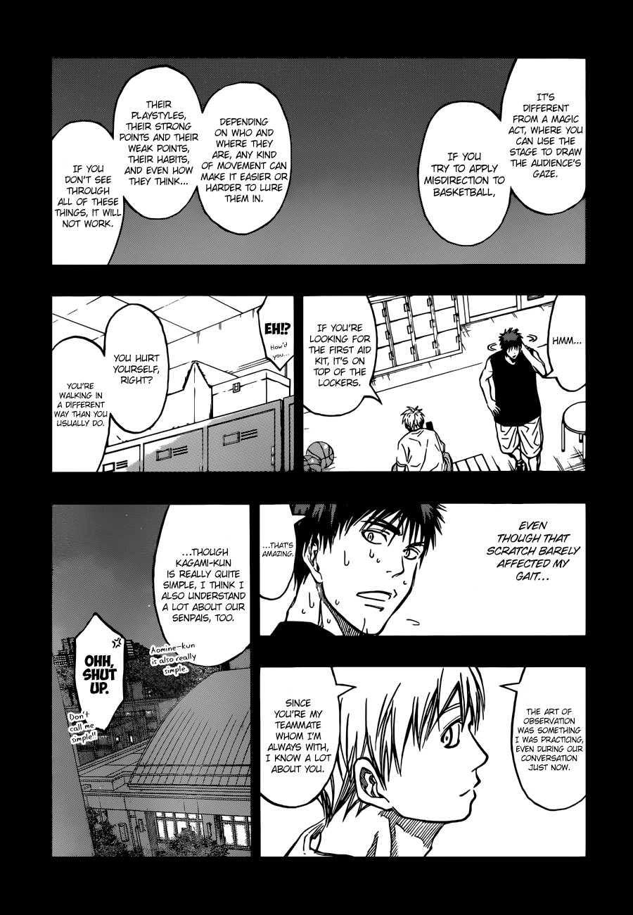 Kuroko no Basket Manga Chapter 263 - Image 03