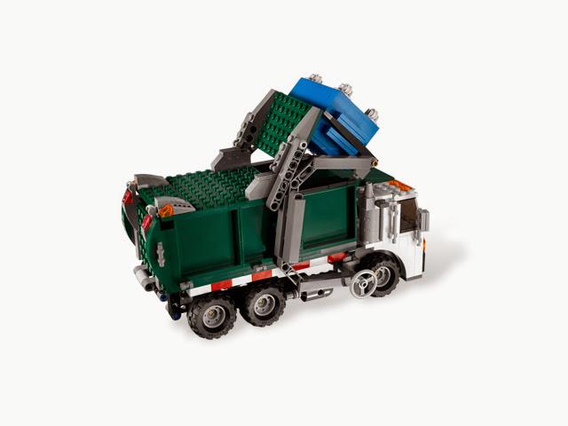 7599 レゴ トイ・ストーリー3 ゴミ収集車からの脱出