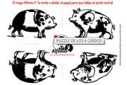 El puzzle de los cerdos
