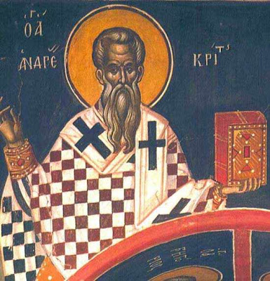 A saint for July 4: Saint Andrew of Crete