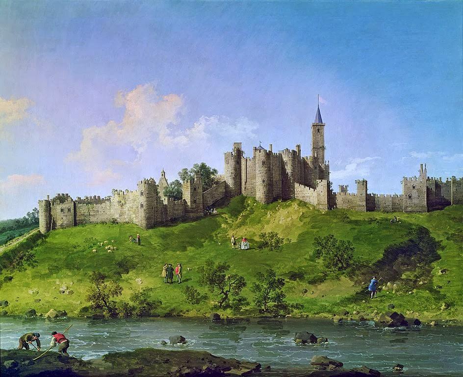 Canaletto - Alnwick Castle