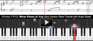 Yiruma - River Flows in You Piano Tutorial with music sheet