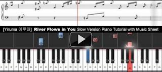 Yiruma - River Flows in You Piano Tutorial with music sheet