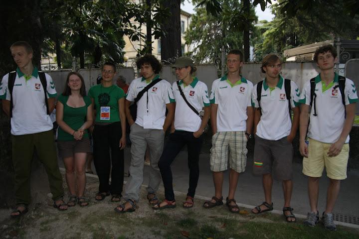 Lietuvos laipiojimo rinktinė pasaulio laipiojimo čempionate Arco