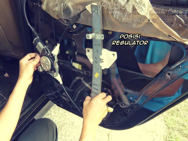 Posisi Proton Gen2 Power Window Regulator