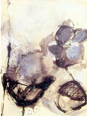 Mots - invisible II, 1992 200 x 150 cm, acrylique sur toile