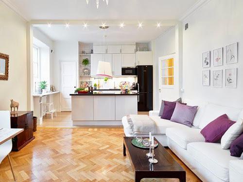 Phối màu chuẩn cho căn nhà trắng