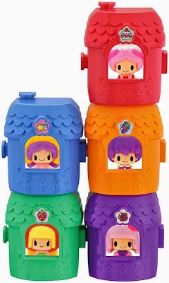 Ngôi nhà mini có thể chứa được búp bê Bara