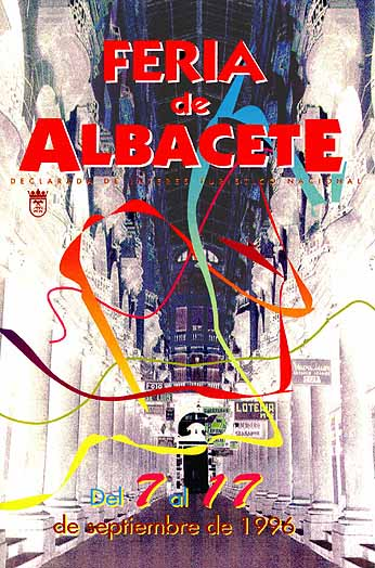 Cartel Feria Albacete 1996