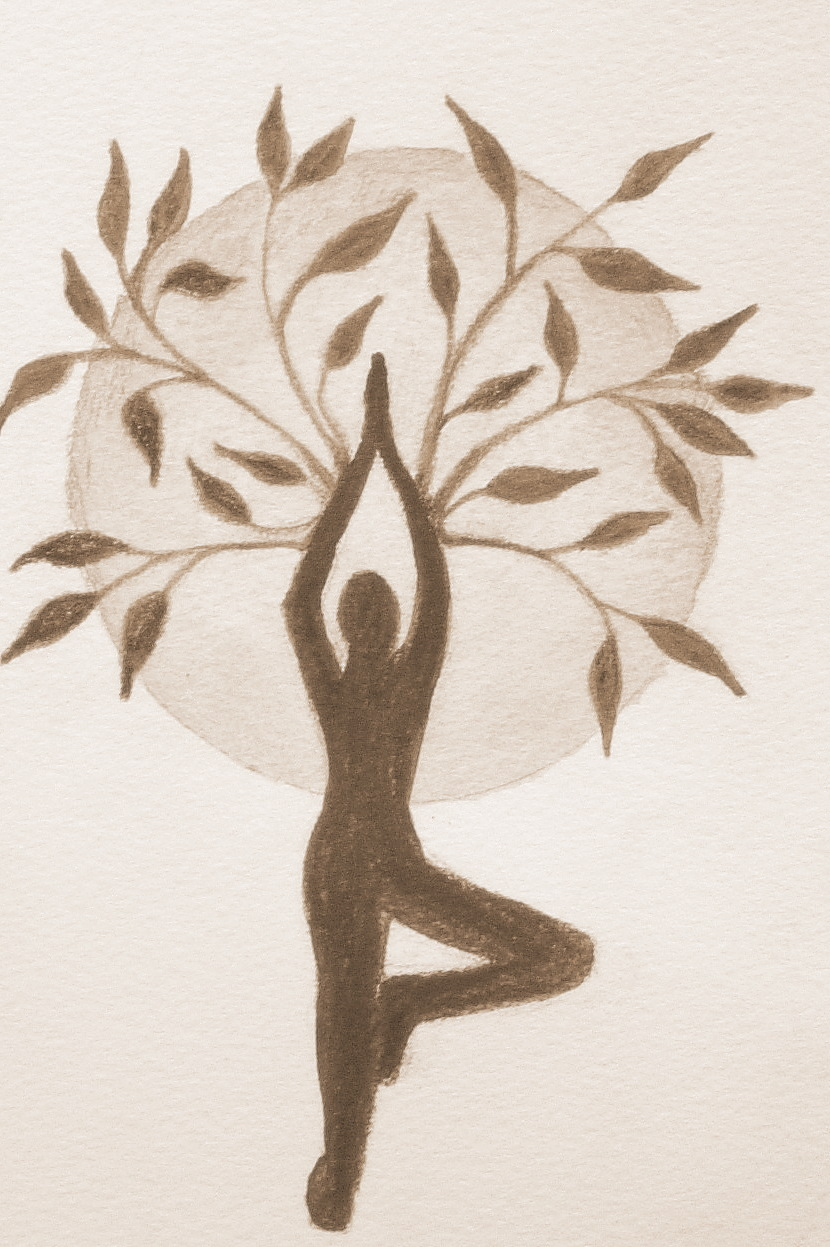 Shirt design course - So I Ve Had This Yoga T Shirt Design In Mind For Quite Awhile Inspired By One Of My Favorite Yoga Poses Tree Pose Of Course