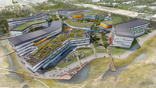 Google-Campus Bay View