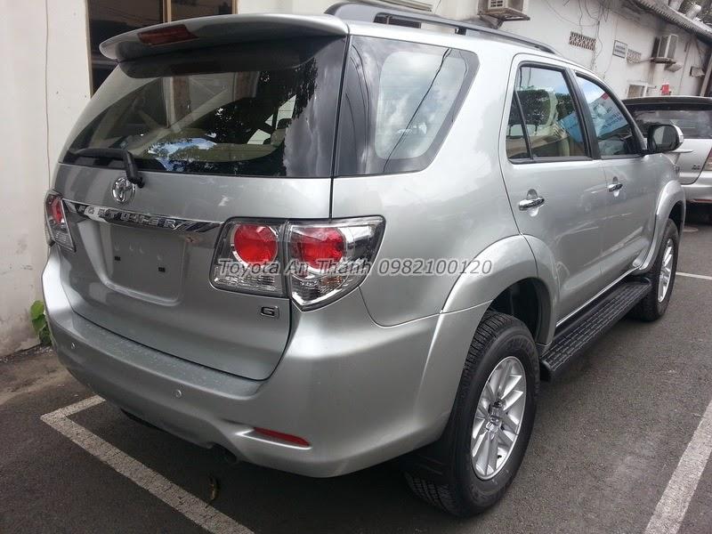 Khuyến Mãi Giá Xe Toyota Fortuner 2.5G 2015 Máy Dầu Số Sàn 6