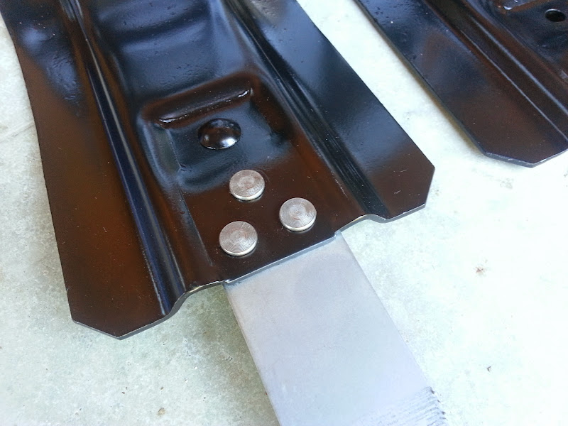 Riveted Fuel Tank For Fuel Tank Brackets we