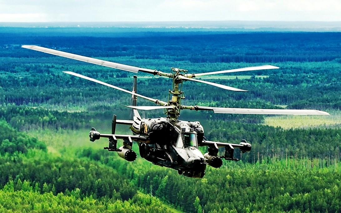 Kamov Ka-50 Black Shark Helicopter Wallpaper 2