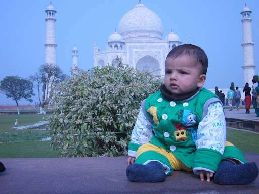 Atharv in a cute pose..