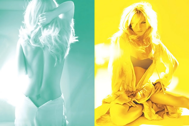 Britney Spears topless lingerie V Magazine April 2011 corset