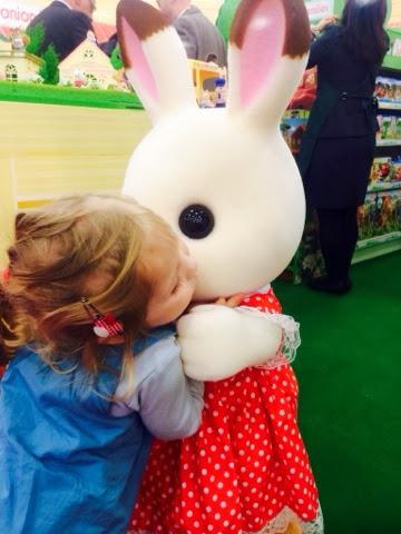 Maegan Clement Giant Freya Chocolate bunny rabbit sylvanian families