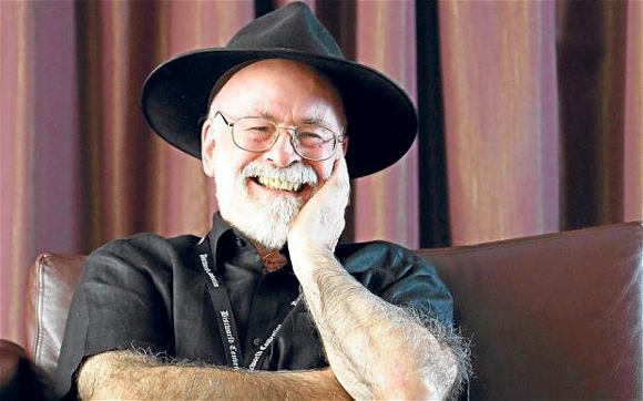 Despite suffering from Alzheimer's, Sir Terry Pratchett continues to produce new work