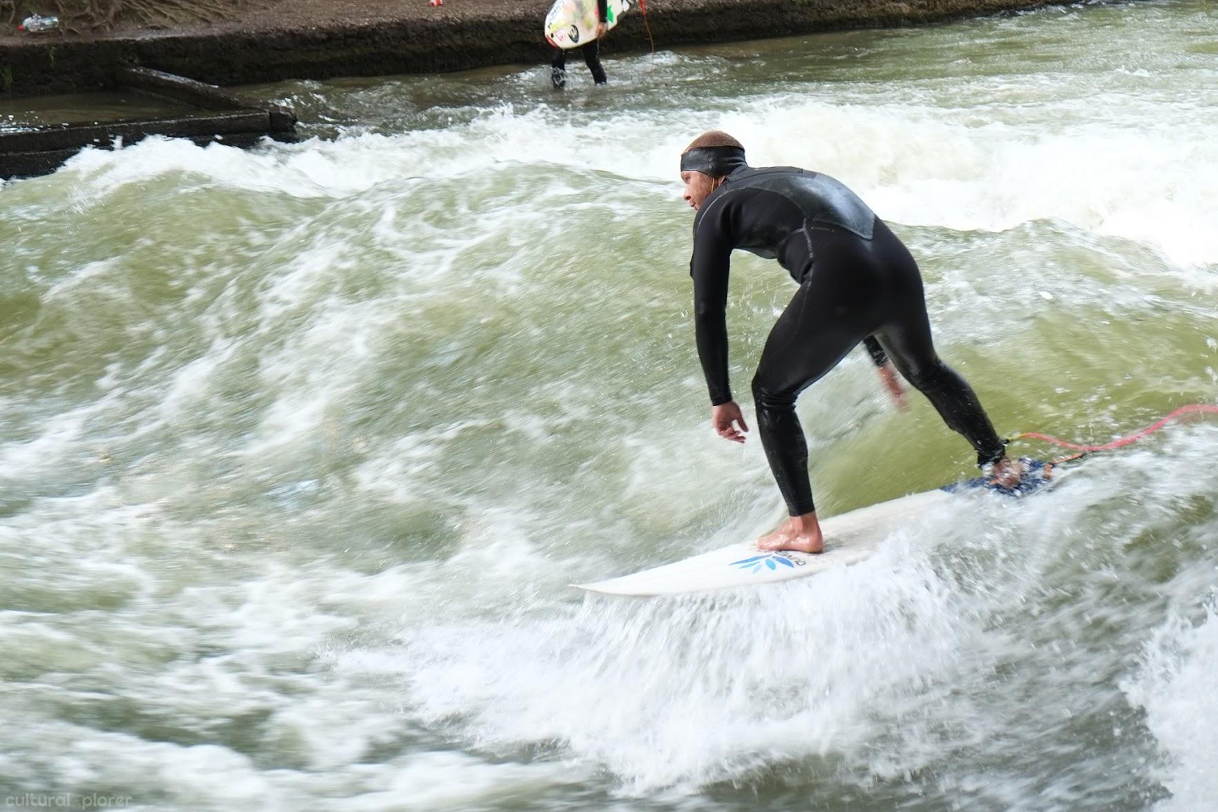 English Garden Munich Surfer