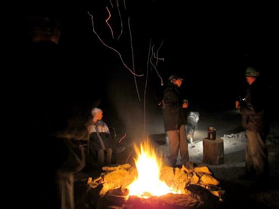 Friday night's campfire