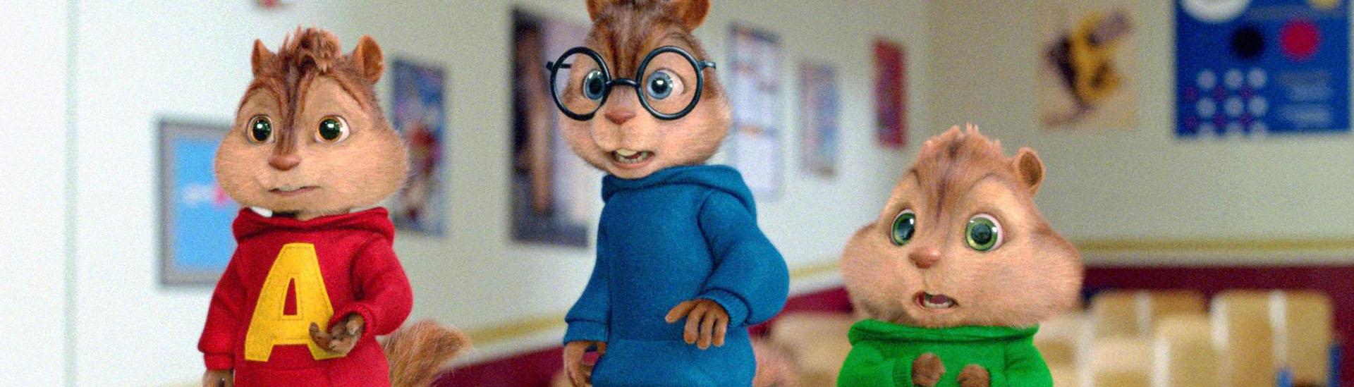 Baner filmu 'Alvin i Wiewiórki 2'