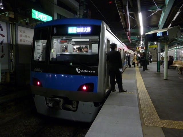 小田急電鉄 準急 相模大野行き2 4000形(東京電力計画停電に伴う運行)