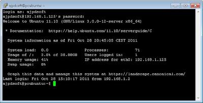 Administración y ejecución de comandos desde cliente SSH en Linux Ubuntu Server con OpenSSH