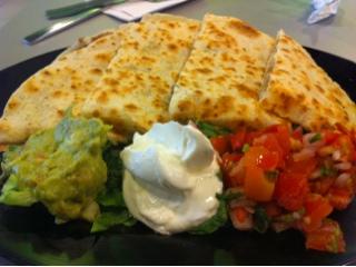 quesadillas from Baja Fresh