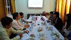 Đoàn trường Đại học Công nghệ King Mongkut (Thái Lan) đến thăm và làm việc tại Cao đẳng Cộng đồng Vĩnh Long
