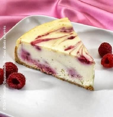 Cheesecake moelleux et fondant à la framboise
