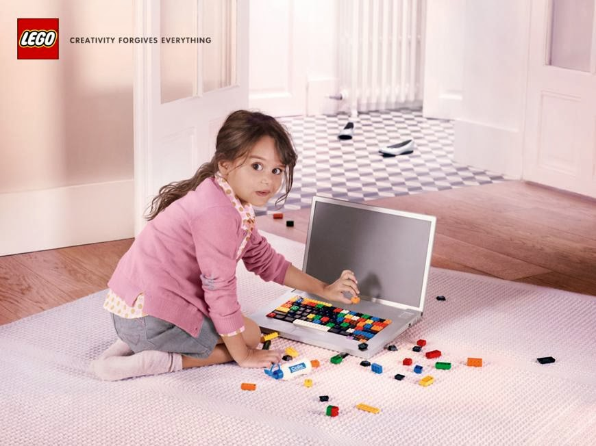 Creativity Forgives Everything in Latest Print Ads For LEGO