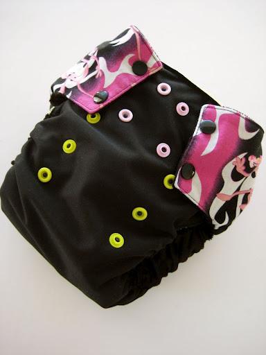 Pink Panther OS diaper