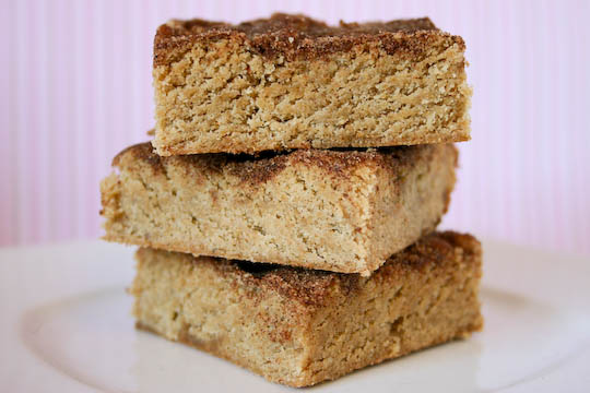 Snickerdoodle Blondies.