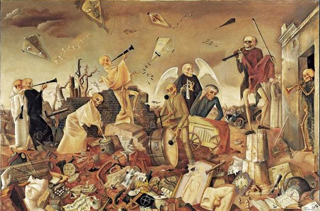 Felix Nussbaum - Death Triumphant or The Dance of the Skeletons