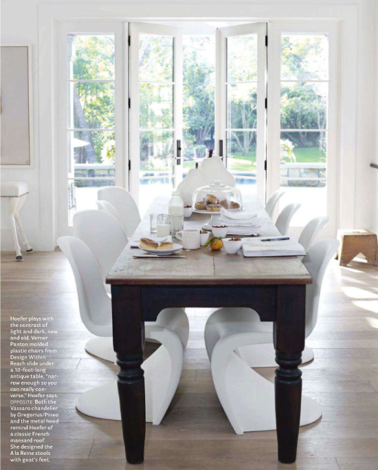 The read about this beautiful home pick up the April issue of House  Beautiful.