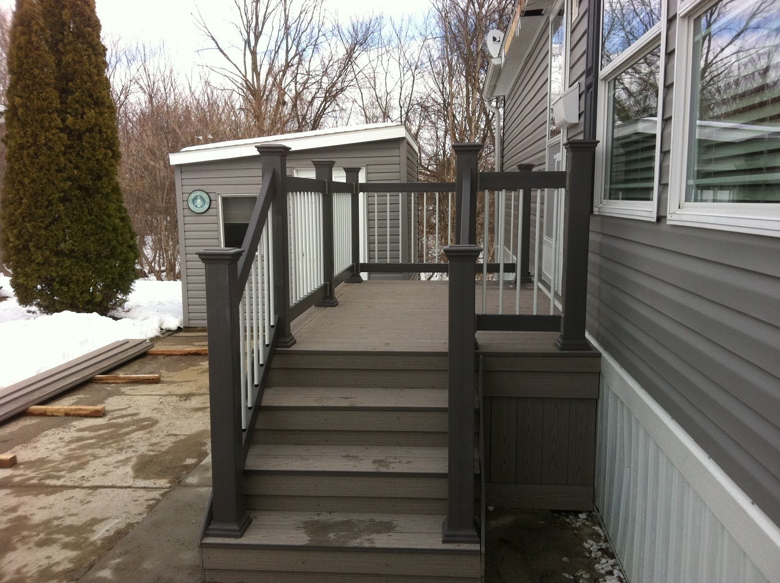 Steps porch stairs stairs paint exterior wood stairs painted exterior - Timber Tech Decks With Front Steps Ideas Pictures