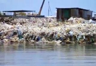 جزيرة النفايات فى المالديف