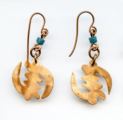 Adinkra Earrings from Soul of Somanya