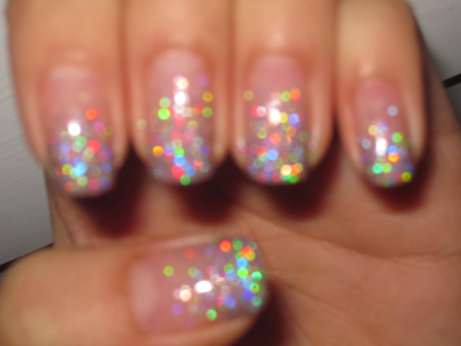 Jellys Nails Glitter Gradient