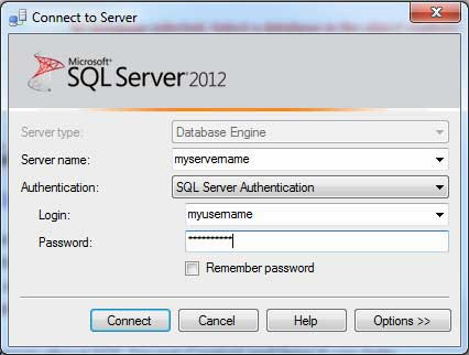 Connect To Sql Azure