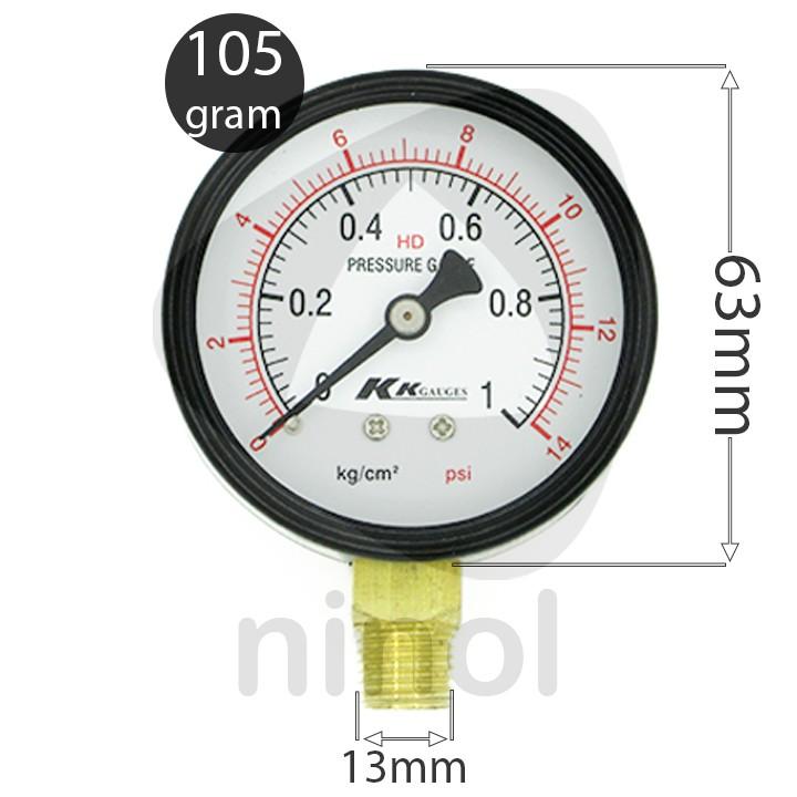 Đồng hồ đo áp suất mặt dầu