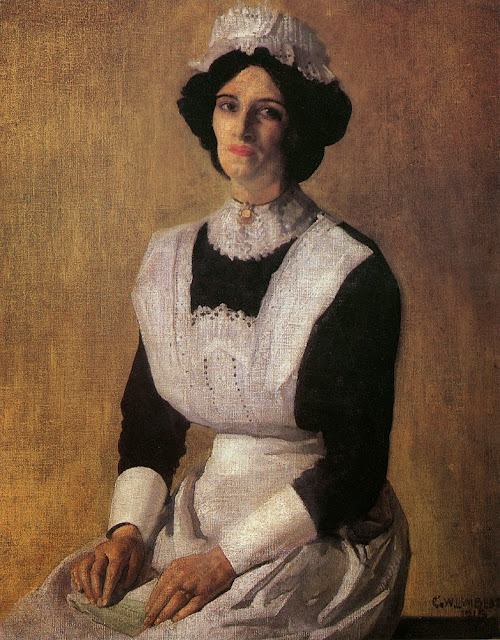 George Lambert - The Maid,1915
