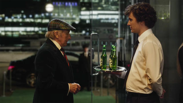 "How Many Times Does Jackie Stewart Say No In The Heineken ""When You Drive, Never Drink"" Formula 1 Ad"