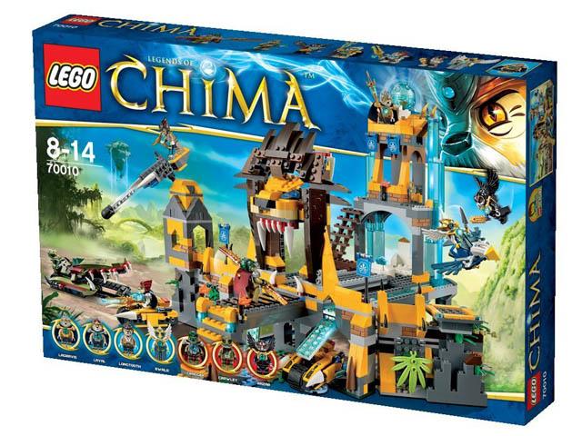 70010 レゴ チーマ 正義のライオン神殿