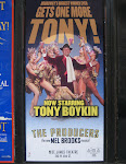 Tony makes his musical debut