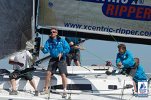 J/111 Xcentric Ripper sailing North Sea Regatta